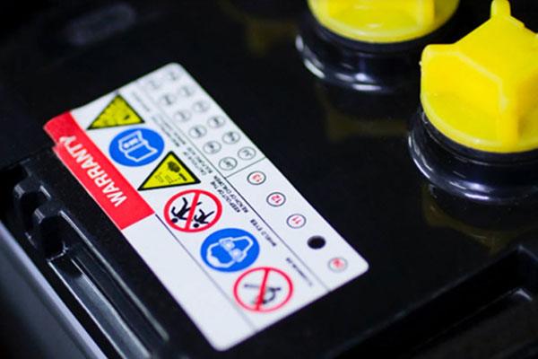 étiquette consigne automobile