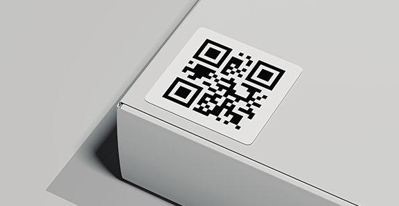 étiquette datamatrix