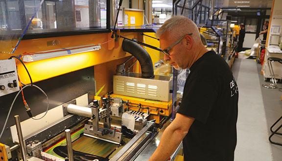 étiquette décor fabrication étiquette