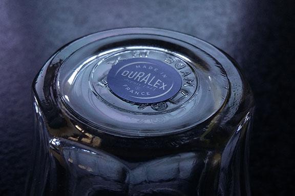 étiquette logo verre duralex