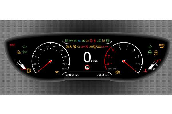 étiquette signalétique filtre afficheur automobile