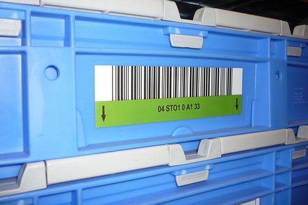 étiquettes code barres logistique