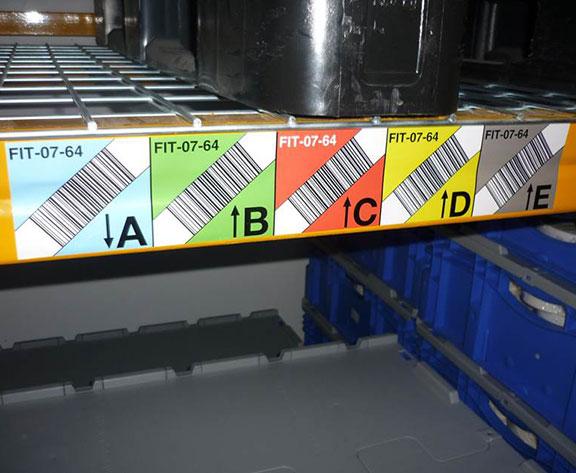 marquage entrepôts bandeaux code-barre