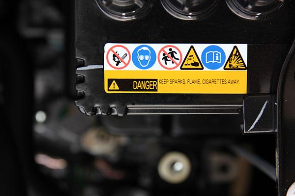 signalétique étiquette consignes